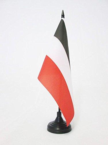 Piccola BANDIERINA Reale Italiana 14 x 21 cm AZ FLAG Bandiera da Tavolo Stemma Regno dItalia 1861-1870 21x14cm
