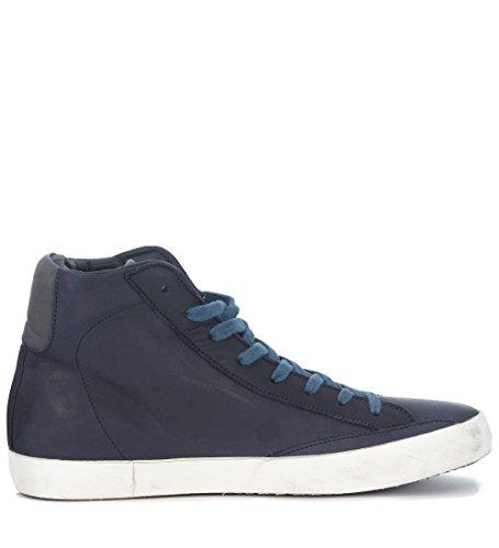 Zapatillas De Deporte Philippe Model Hombres Paris Azul, Azul