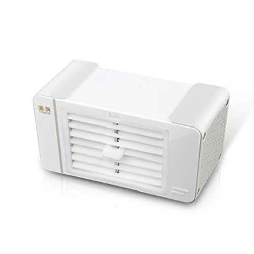 GX&XD Mini portable Air conditioner fan,Single-cold Evaporative coolers With dehumidifier and fan Add water Air cooler Small desktop fan-A