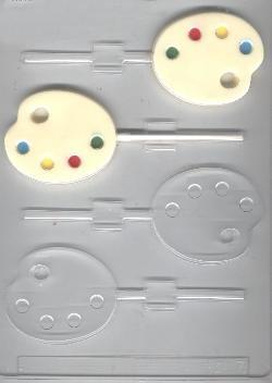 Artist Palette Pop Candy Mold