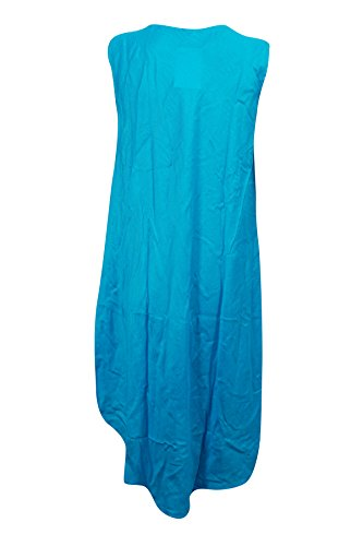 Mogul Interior - Vestido - Sin mangas - para mujer Blue-1