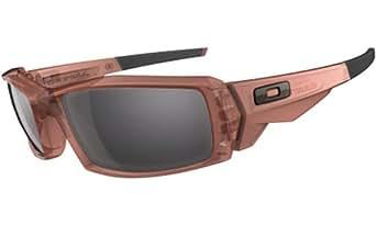 Oakley Men's Canteen Sunglasses (Rust Frame/Grey Lens)