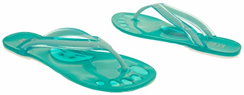 Tongs Femmes Studio Bout Design Keddo Footwear Vert U6Fxnx