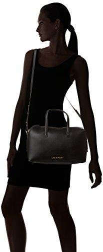 Black Calvin Shoulder Women K60k604448 Klein Frame Duffle nY1xgOYwq