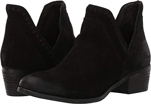 BCBGeneration Women's Ruby Cowsuede Black 9 M US