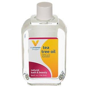 The Vitamin Shoppe Tea Tree Oil (Melaleuca Alternifolia), 100 Pure Australian, Natural Bath and Beauty Skin Care Oil (3.6 Fluid Ounces Liquid)