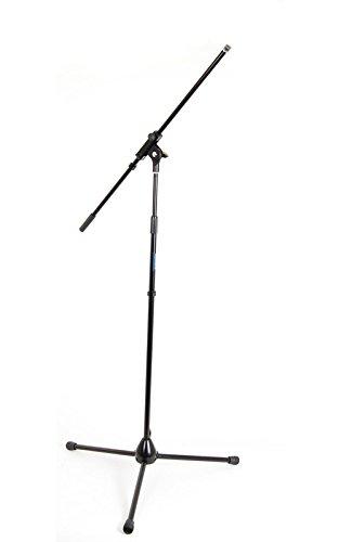 Woodbrass MIC50 - Soporte jirafa para micrófono, color negro: Amazon.es: Instrumentos musicales