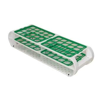 Bel-Art Products F18745-0012 Green Switch-Grid Test Tube Rack 16 mm to 20 mm Diameter
