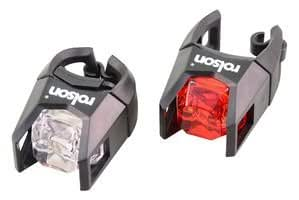 BICYCLE LIGHT SET, LED, 2 PIECE 61622 By ROLSON TOOLS