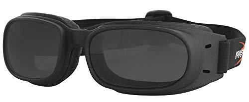 Bobster Eyewear N/Apiston Goggle Blk/Smk Bpis01 New