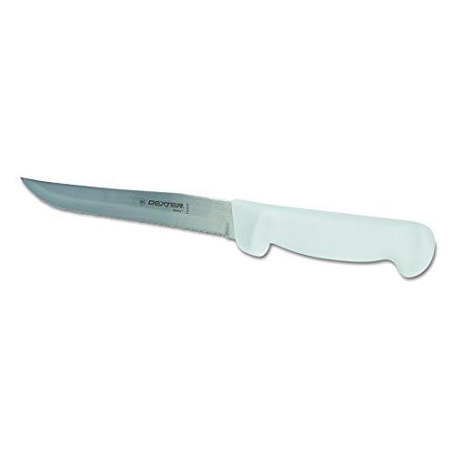 Basics P94848 International Scalloped Edge Utility Knife with Polypropylene - International Scalloped