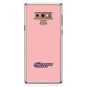 Loud Universe Classic Cartoon Pink Samsung Note 9 Case Power Puff Girls Samsung Note 9 Cover with Transparent Edges