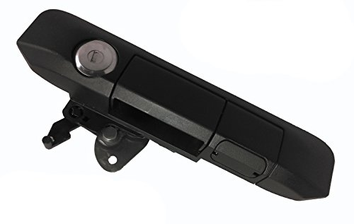 Pop & Lock PL5400 Black Manual Tailgate Lock with BOLT Codeable Technology for Toyota Tacoma (Tacoma Toyota Handle Tailgate)