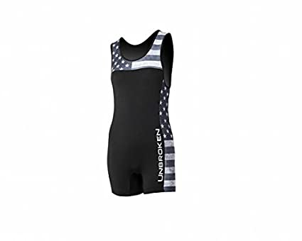 2fd703ba7d Womens and Men Power Lifting Singlet, Weightlifting or Wrestling Singlet  for Power Lifters & Weightlifters Star and Stripes Singlet Design with a ...