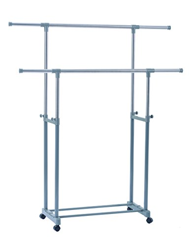 YUBELLES Garment Drying Rack Ajustable Flexible Clothing Han