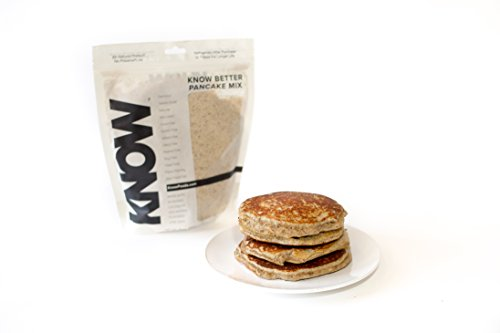 KNOW Foods Gluten Free Pancake Mix, Low Carb, Keto + Paleo Friendly - 16 oz
