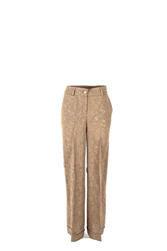 Pantalone Donna Twin-set 42 Beige Ps72xb 1/7 Primavera Estate 2017