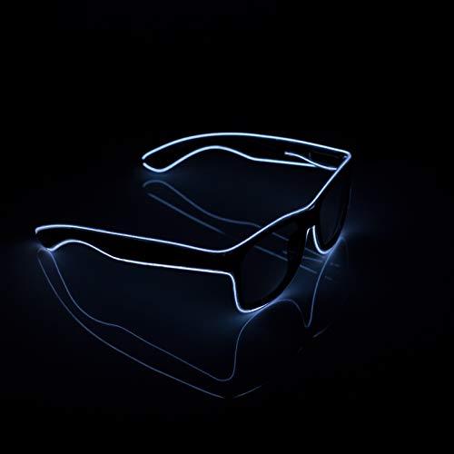 XSC Light Up EL Wire Glasses Neon Glowing