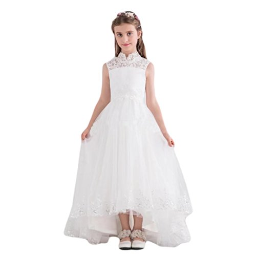 Angel Dress Shop Hi Low First Holy Communion Dress Girl Dresses Wedding Lace Pageant (Holy Communion Dresses Shops)