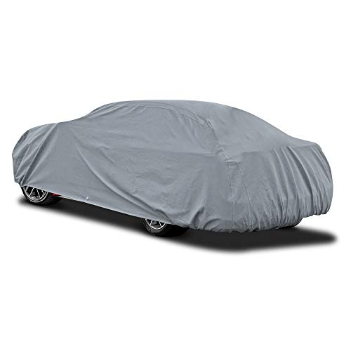 BDK Quad-Layer Heavy Duty Waterproof Car Cover for Ford Mustang ()