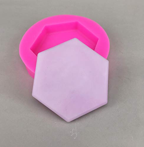 Luyou hexagon 1pcs Gem Diamond Shaped Fondant Mold Silicone Cake Candy Chocolate Mould Cake Decorating Tools FM1528]()