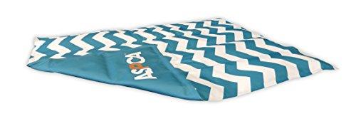 Aspca As672blue Chevron Reversible Pet Self Cooling Mat