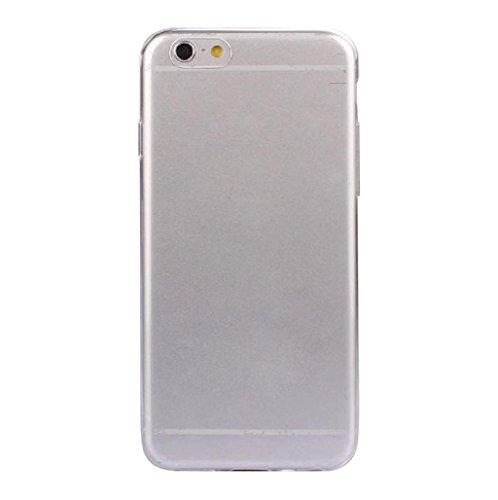 Sannysis® iPhone 6S ultra fina de 0.3mm cristal claro de silicona suave de la caja