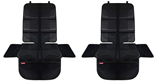 HerzensKind Premium Autositzauflage, der perfekte Schutz für Ihre Autositze, Kindersitzunterlage für Textil- und Ledersitze, ISOfix geeigneter Sitzschoner