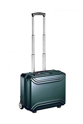 17 Inch Aluminum Laptop Case (Zero Halliburton Air Ii 17 Inch Wheeled Business Case, Green, One)