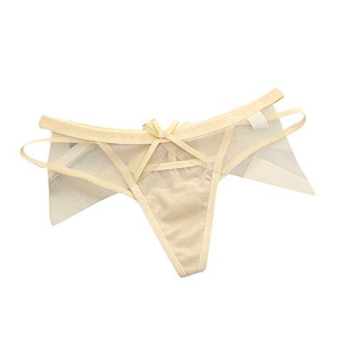 Women Sexy Lingerie, JMETRIE Sexy G-String Thongs Panties Mesh Hollow Bow Lingerie Underwear Briefs