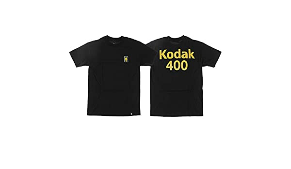 75f3508e5172a Amazon.com  Girl Skateboards Kodak Gold 400 Black Men s Short Sleeve  T-Shirt - Medium  Sports   Outdoors