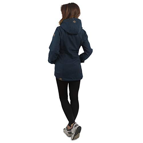 Blu Navy Jacket Ragwear Bonded Blue Enrica FSwqAZ