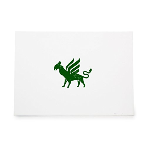 Griffin Legend Mystic Mystical Myth Style 7409, Rubber Stamp