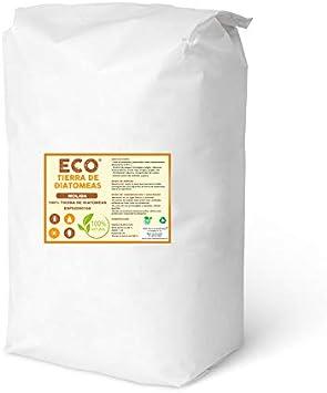 ECO Tierra de diatomeas Molida 25kg - Producto 100% Natural y ecológico - Grado alimenticio E551c