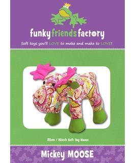 (Funky Friends Factory FFF2625 Mickey Moose Ptrn None)