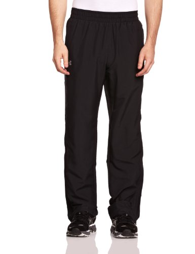 Under Armour Herren Fitness Hose und Shorts UA Powerhouse Woven Pants, Black, XL, 1236705