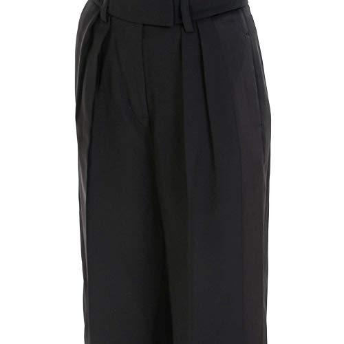 Pantaloni Alexander Nero 4W284004Y7001 Donna Wang Acetato qC8Czaw