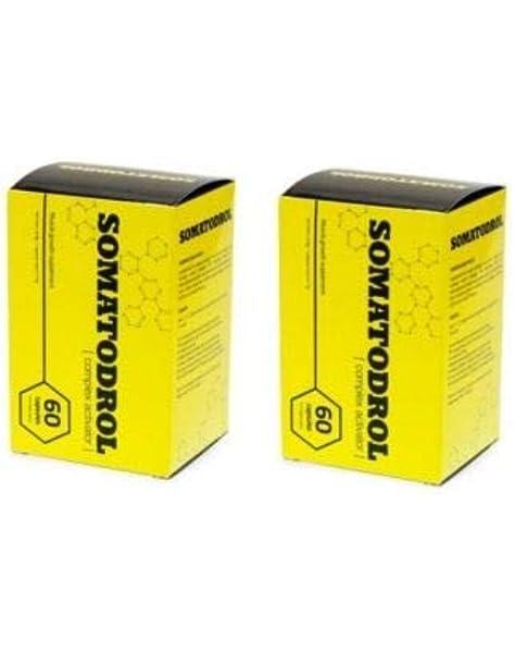 2 X SOMATODROL 60 CAPSULAS FORMACION MUSCULAR: Amazon.es ...