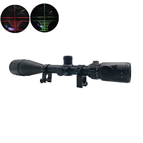 Huntiger Rifle Scope 6-24x50 AOE Red and Green Illuminated, used for sale  Delivered anywhere in USA
