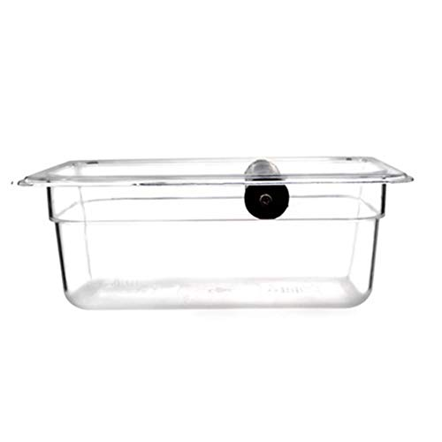 Serendipity Clear Polycarbonate Coffee Knock Box with Wood Holder Set (Large) by Serendipity (Image #2)