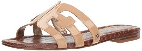 Sam Edelman Women's Bay Slide Sandal, Almond Patent, 7 M US
