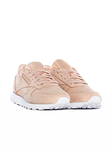 Leather Rose Cloud Chaussures Nbk Nude Reebok Cl white W qCgffP