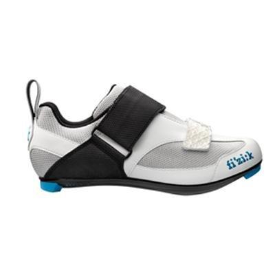 Fizik Frauen K5 Donna Triathlon Radfahren Schuhe Weiß / Schwarz / Blau