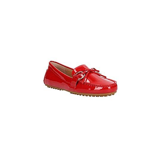 Ballerinas Lauren 689008 Ralph 002 Rosso Briley Red 802 PpqB7vc4w