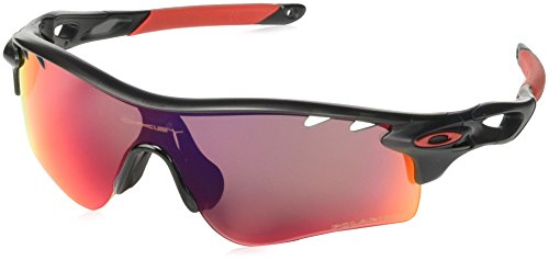 Oakley mens Radarlock Path OO9181-23 Polarized Sport Sunglasses,Matte Black Ink,55 mm