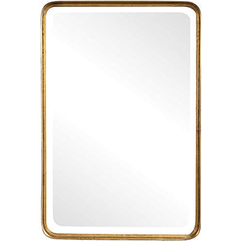 Uttermost' Crofton Antique Gold 30x20 Vanity Mirror - 13936 (Mirror 30 X 20 Metal Frame)