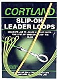 #10: Cortland 601253 Slip-On Leader Loops Braided Clr, 30-Pound