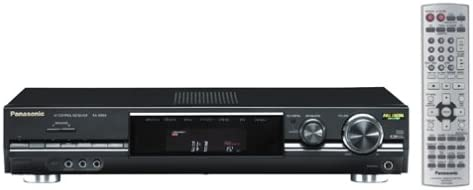 Panasonic SA-XR50 Slim-Design Home Theater Receiver Black Discontinued by Manufacturer