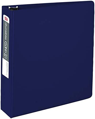 """OfficeMax Durable Reference Binders with Round Ring 2"""", Blue"""