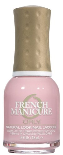 Orly Nail Lacquer French Man, Angel Face, 0.6 Fluid Ounce